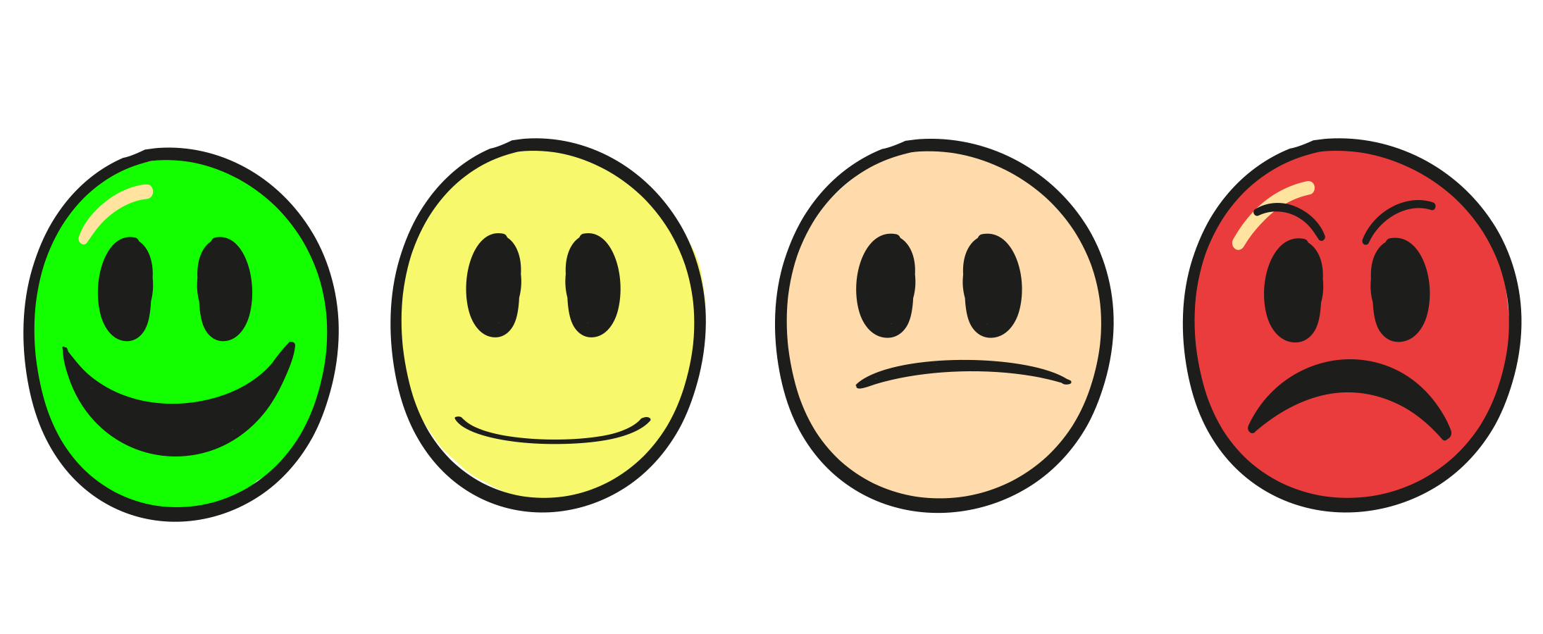 Smile Face Survey Kiosk