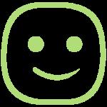 Smiley Face - Happy