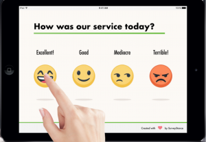 Smiley Face Feedback Kiosk - SurveyStance