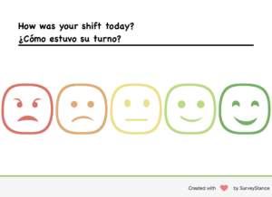 emoji feedback survey