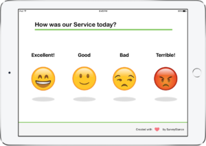 iPad Smiley Survey App
