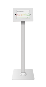 Smiley Feedback Kiosk Stand
