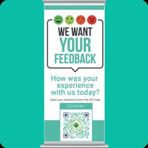 QR Code Survey - Customer Feedback