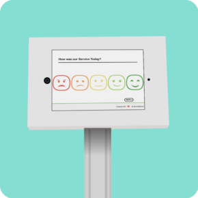 Feedback Survey Kiosk