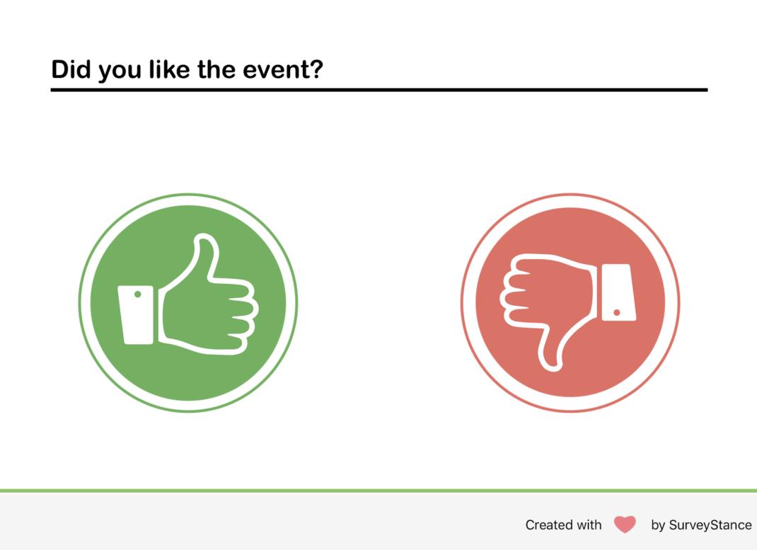 iPad Survey Thumbs Up